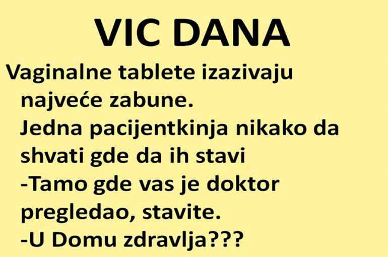 VIC DANA: Vaginalne tablete